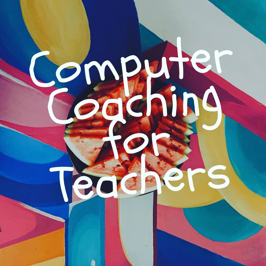 Computer skills training for teachers