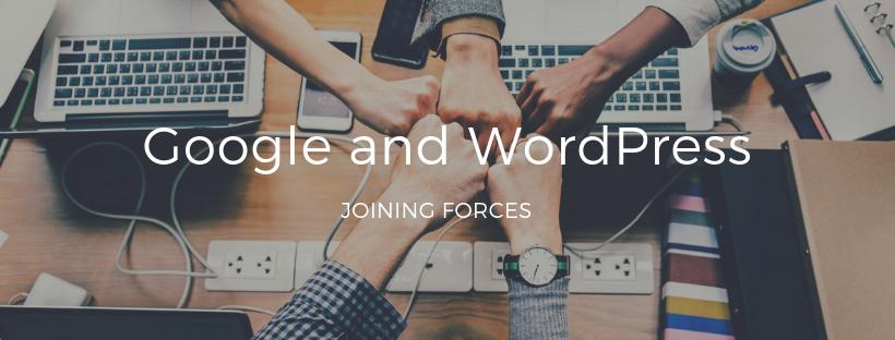 Google and WordPress