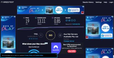 computer help to speed test internet