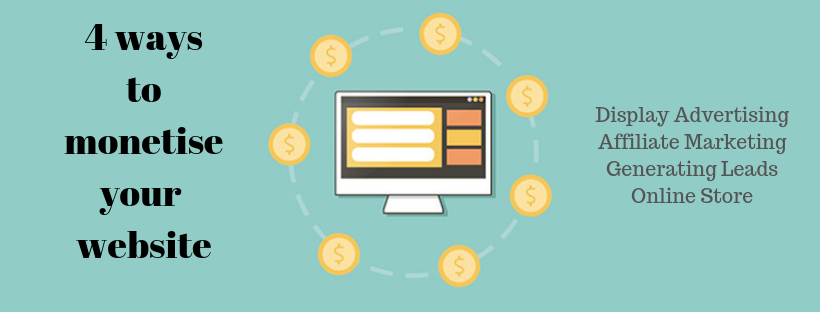 monetise your website